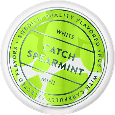 Catch Spearmint Mini White Portion