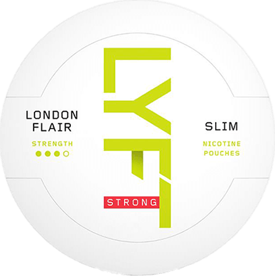 LYFT London Flair Slim All White Portion