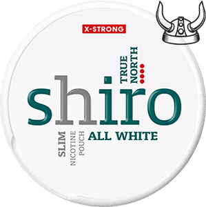 Shiro True North Slim X-Strong All White Portion