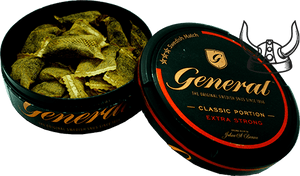 General Classic Extra Strong Original Portion
