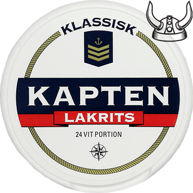 Kapten Lakrits White Portion
