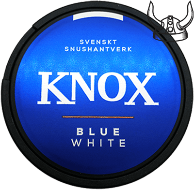 Knox Blue White Portion