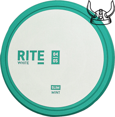 Rite Mint Slim White Portion - Expires August 10