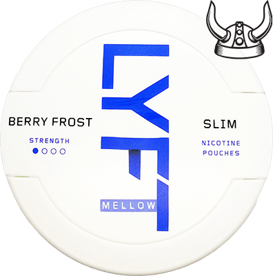 LYFT Berry Frost Mellow Slim All White Portion