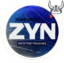 Load image into Gallery viewer, ZYN Dark Frost Slim Super Strong All White Portion