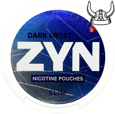 ZYN Dark Frost Slim Super Strong All White Portion