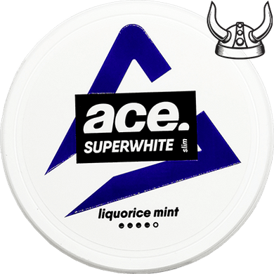 ACE Liquorice Mint ALL WHITE Portion
