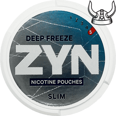 ZYN Deep Freeze Slim Super Strong All White Portion