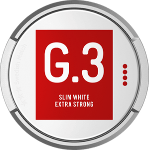 General G.3 Slim White Extra Strong Portion