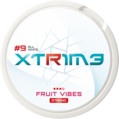 Killa Extreme Fruit Vibes Extra Strong All White