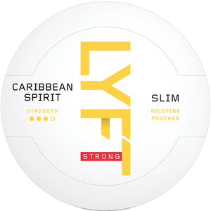 LYFT Caribbean Spirit Strong Slim All White Portion