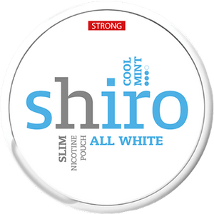Shiro Cool Mint Strong All White Portion