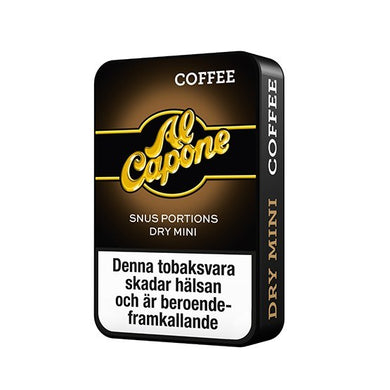 Al Capone Coffee White Portion Mini