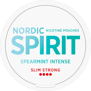 Nordic Spirit Spearmint Intense Slim Strong All White Portion