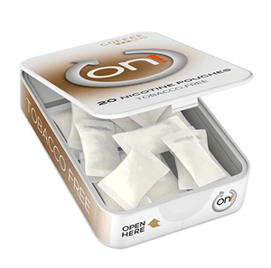 ON! Coffee 3 mg Mini ALL WHITE Portion