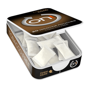 ON! Coffee 6 mg Mini ALL WHITE Portion