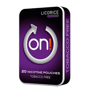 ON! Licorice 6 mg Mini All White