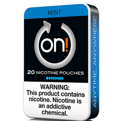 ON! Mint 8 mg Mini ALL WHITE Portion