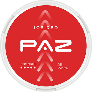 PAZ Ice Red Super Strong Slim All White