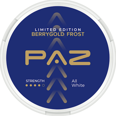 PAZ Berrygold Frost Limited Edition Slim All White
