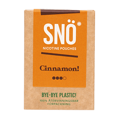 SNÖ Cinnamon Mini ALL WHITE Portion