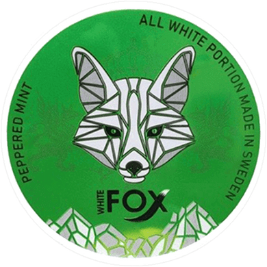 White Fox Peppered Mint Slim All White
