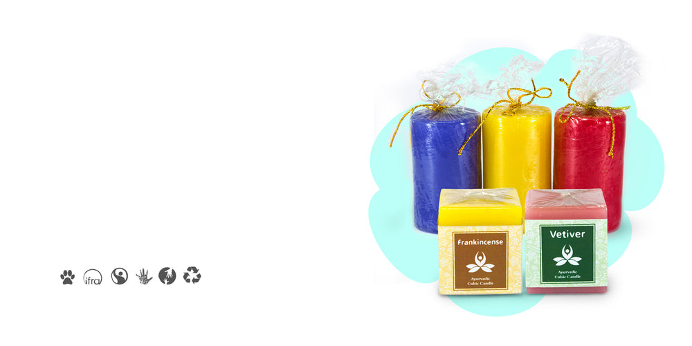 Aromatheraphy Pillar Candles