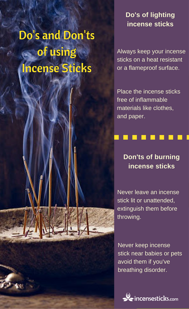Right Time to Burn Incense sticks