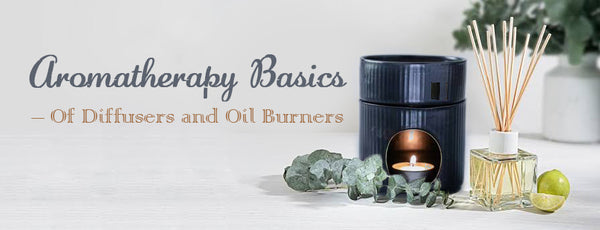 essential oil burners and oil diffusers