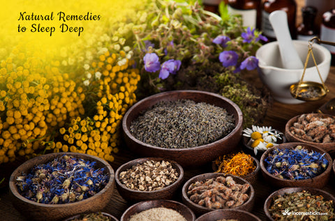 Essential Oils for relaxation and sleep