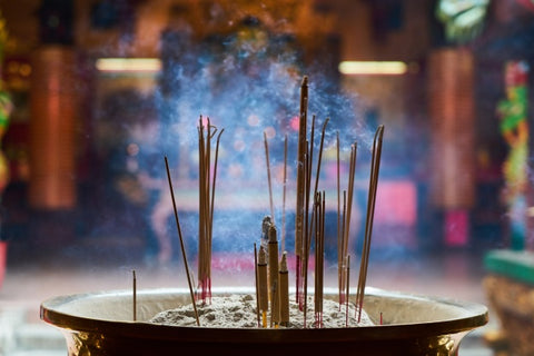 right time to Burn Incense