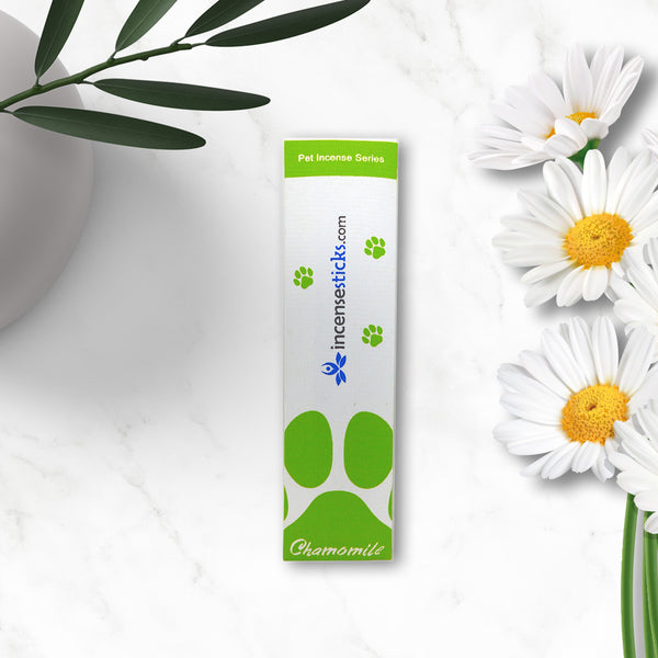 Pet Chamomile Incense Sticks