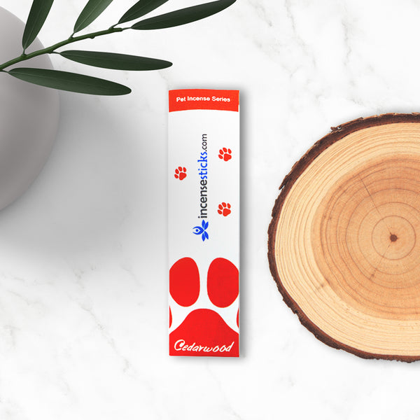 Pet Cedarwood Incense Sticks