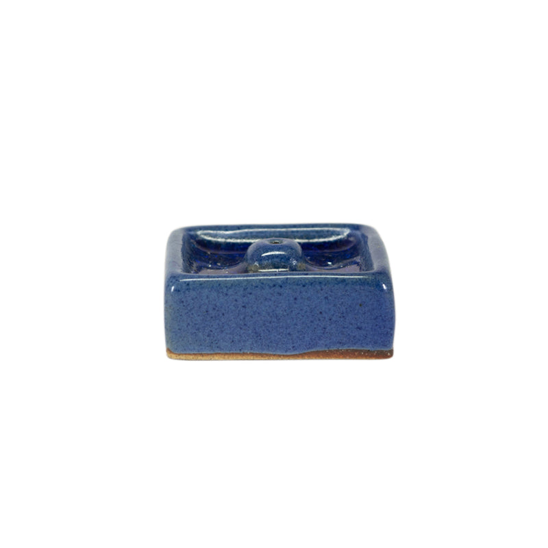 Ceramic with Crystal Incense Holder - Ceramic with Crystal Incense  Holder Small – Square