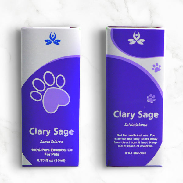 Pet Clary Sage Essential Oil