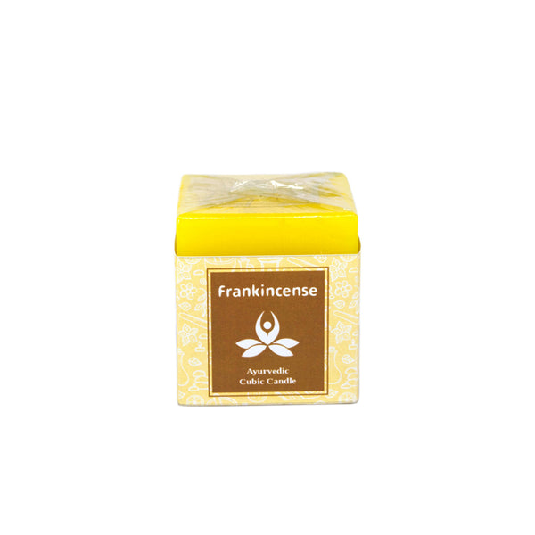 Ayurvedic Cubic Candles - Frankincense Ayurvedic Cubic Candle