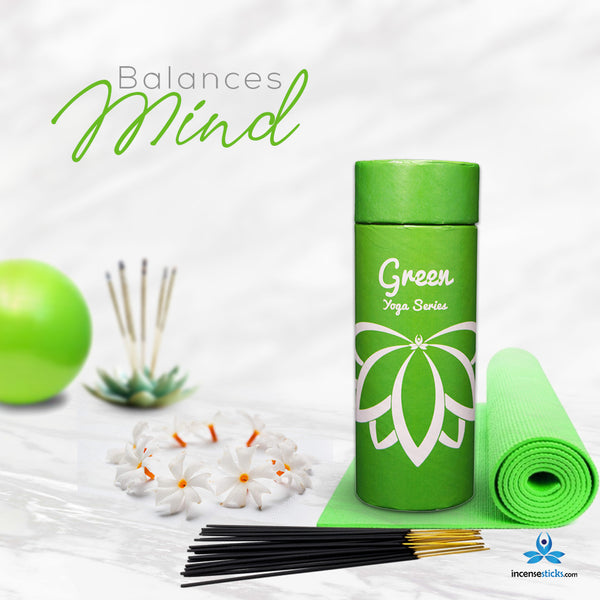 Green Incense Sticks