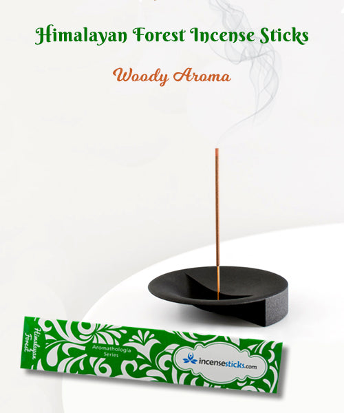 "Himalayan Forest Incense 8"" 12 Sticks"