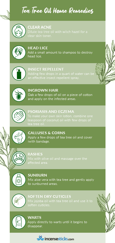 Tea tree Essential oil benefits