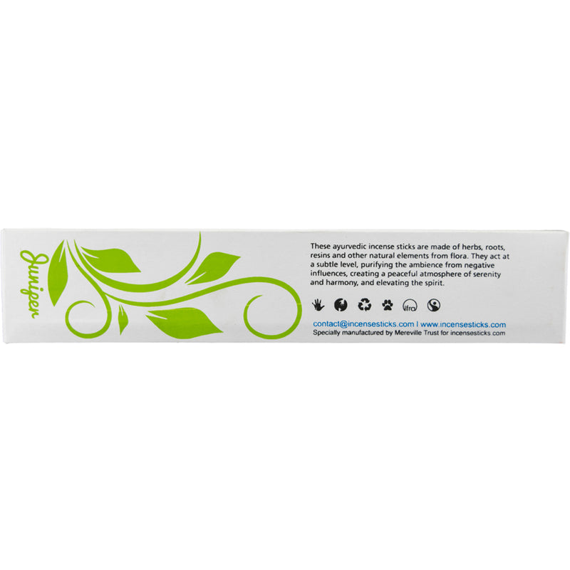 Ayurvedic incense - Juniper Incense Sticks