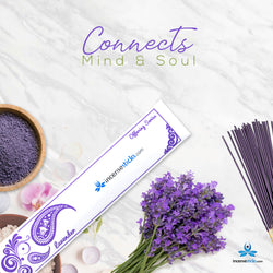 "Lavender Incense 10"" 20 Sticks"