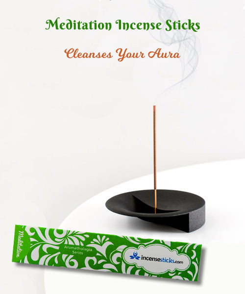 "Meditation Incense 8"" 12 Sticks"