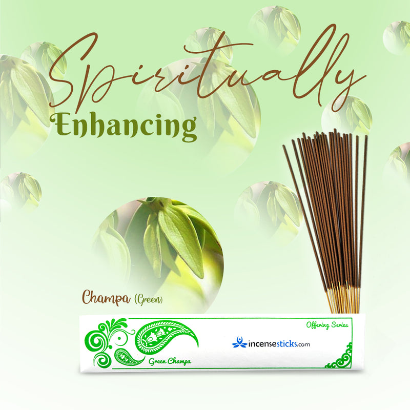 Green Champa Incense Sticks