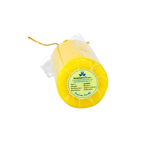 color perfumed Candles - Pillar Candle 85 gram