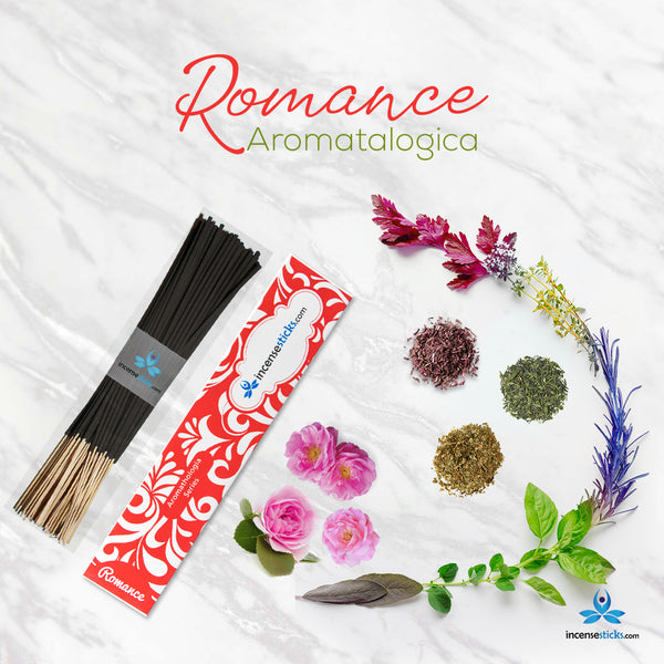 "Romance Incense 8"" 12 Sticks"