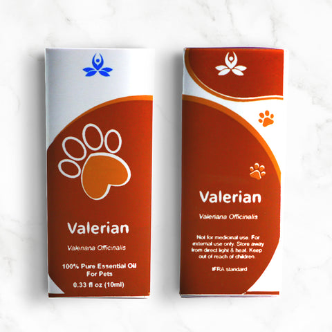 Valerian root Essential oil for Pets