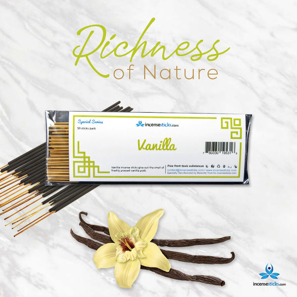 Special Incense - Vanilla Incense Sticks