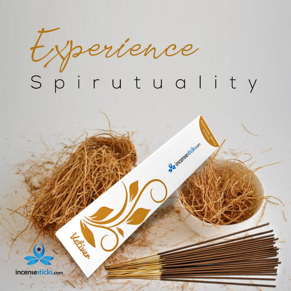 Vetiver Incense sticks - 10 sticks