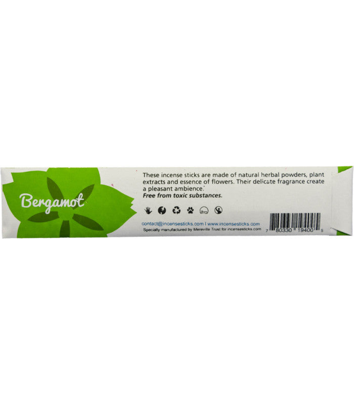 Traditional Incense - Bergamot incense sticks