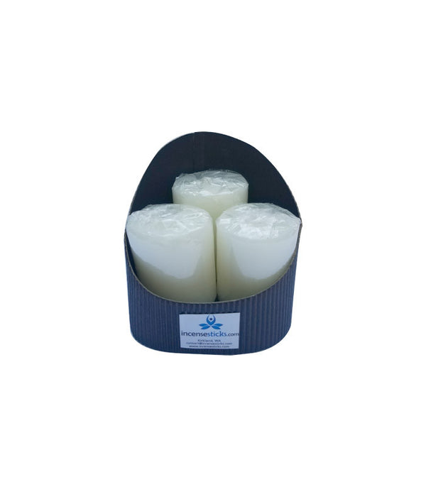 Scented Candles - Round Oval Shape Candle Set